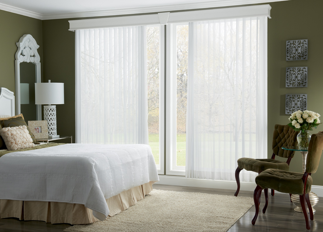 Vertical Blinds, Opaque or Sheer